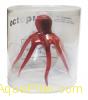 """Декор """"Осьминог"""" из силикона для аквариума, плавающий, ф9x14см (цвет: коричневый"""