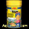 Корм основной JBL NovoTom Artemia для мальков живородящих рыб, 100мл