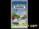 Грунт JBL Sansibar RIVER декоративный светлый, мелкий, с черными вкраплениями, 1