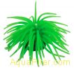"""Декор """"Коралл мягкий"""" из силикона для аквариума, светящийся. Цвет зеленый, 10x10"""