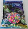 Грунт Marlin Land камушки для аквариума разноцветные, 10-15мм